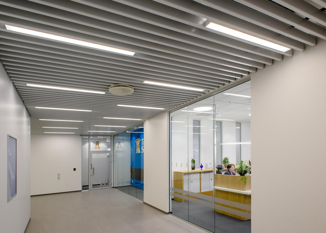 Spilehimling i korridor